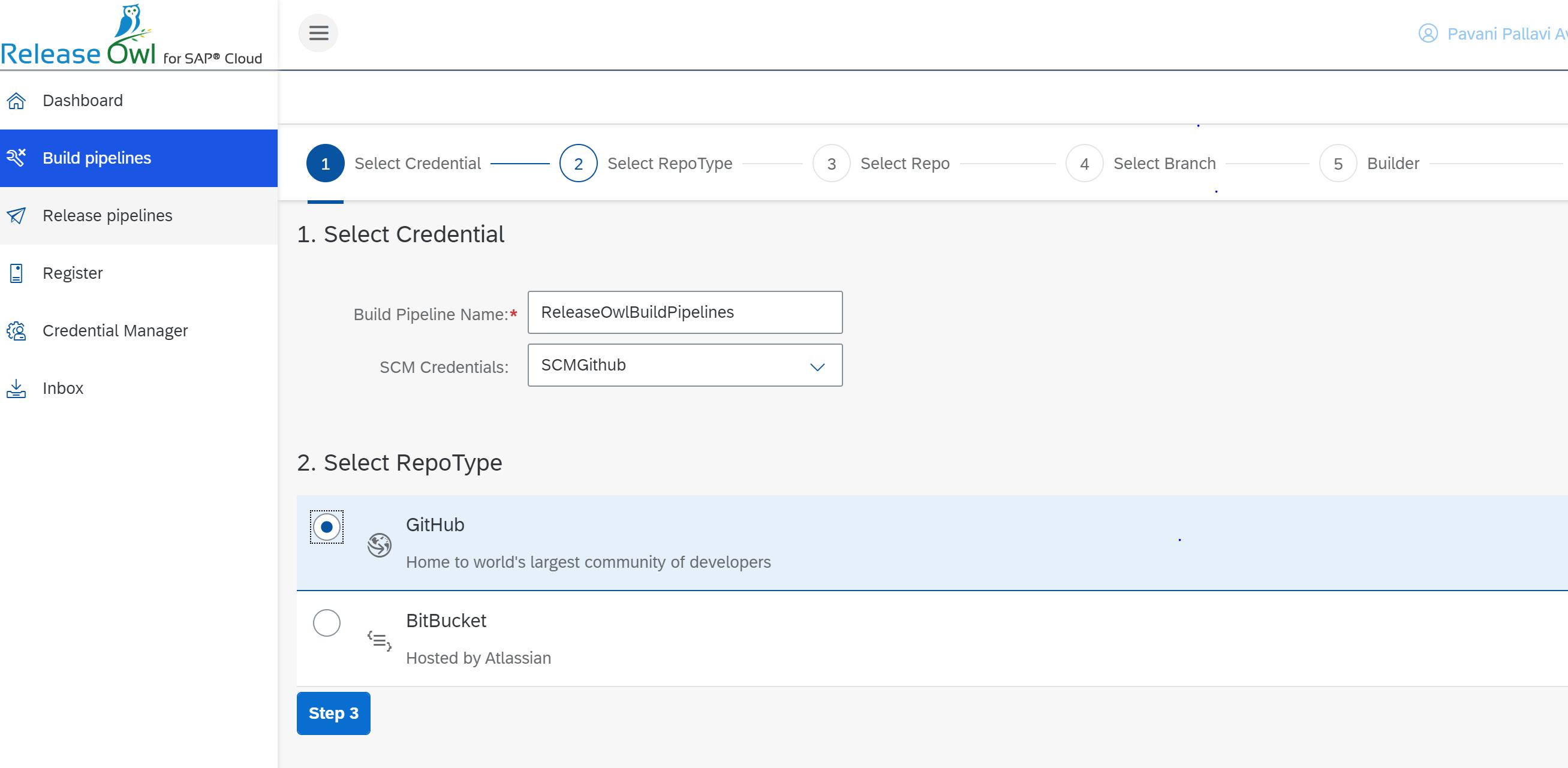 ReleaseOwl-BuildPipelines for SAP Cloud