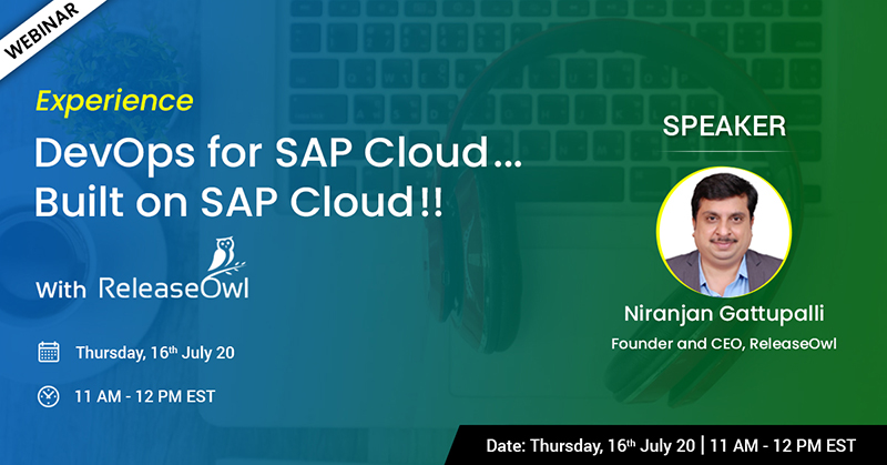 DevOps for SAP Cloud Webinar-ReleaseOwl