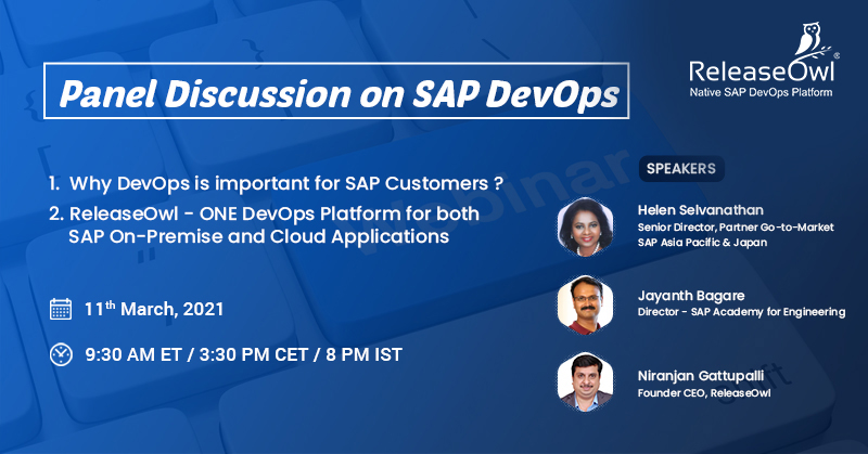 Panel Discussion on SAP DevOps